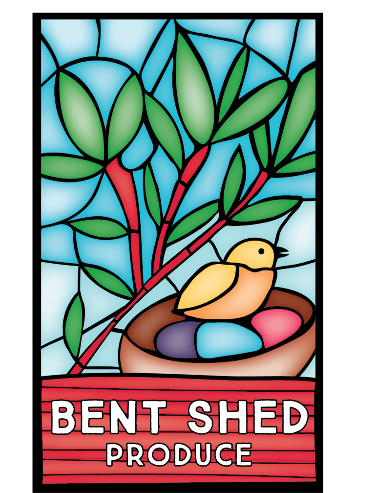 BENT SHED PRODUCE logo