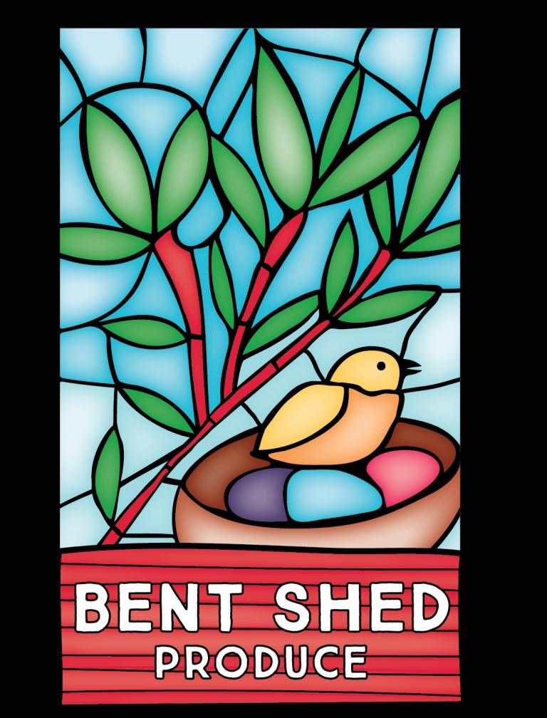 BENT SHED PRODUCE logo