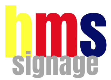 hms print signage